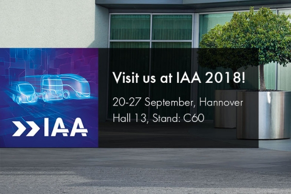 Join Us At The IAA CV Show 2018